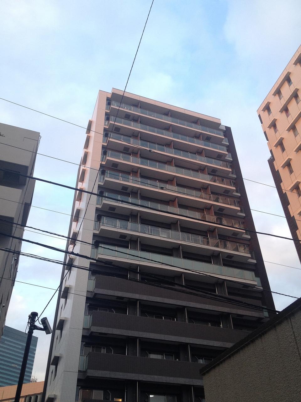 パークアクシス渋谷桜丘ウエストの外観・共用部画像です。