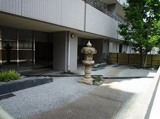 駒込パークハウスの共用部写真になります