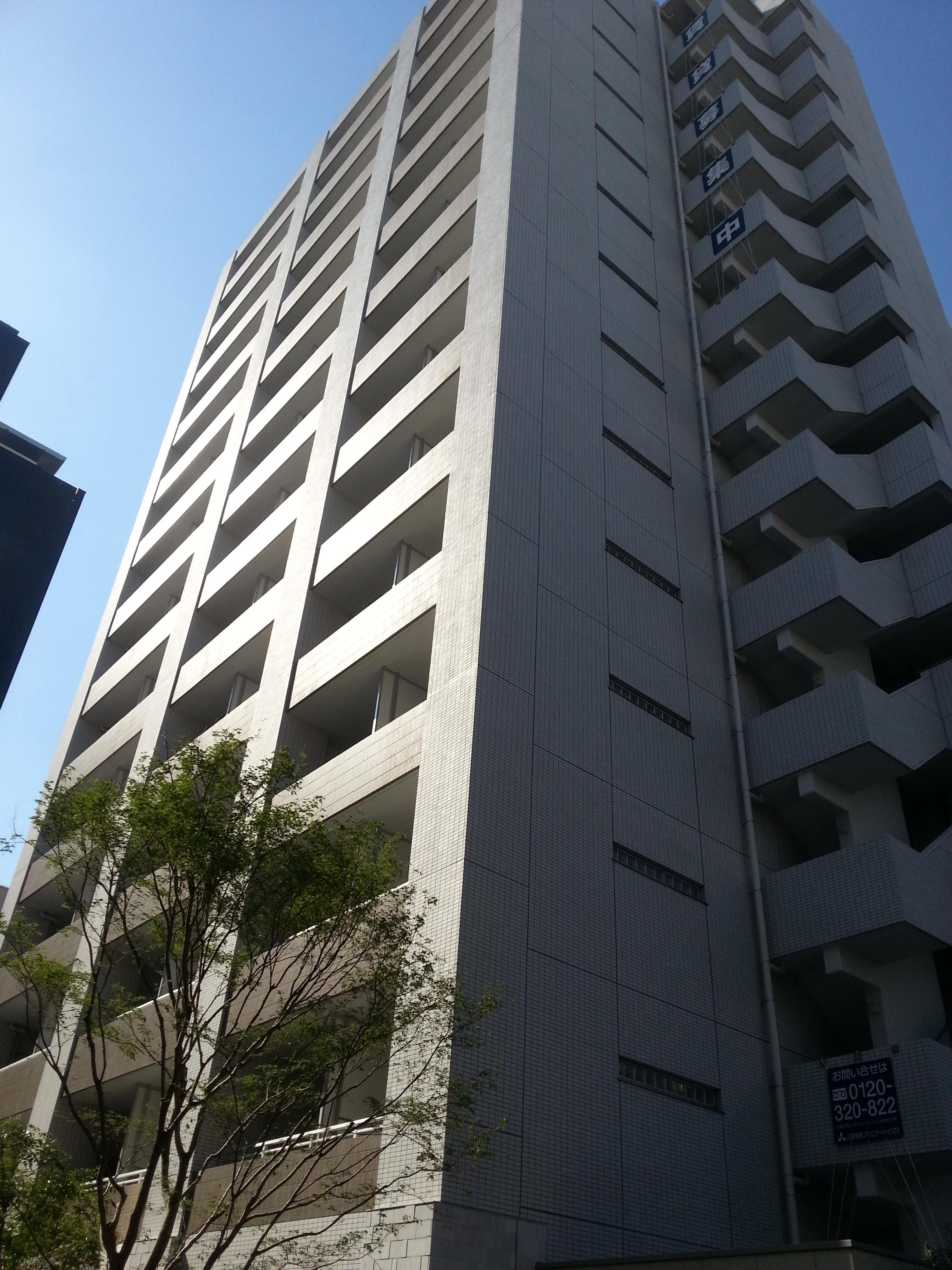 パークハビオ西新宿の外観・共用部画像です。