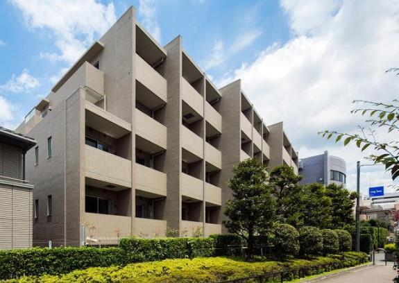コンシェリア東京ザレジデンス パース写真です
