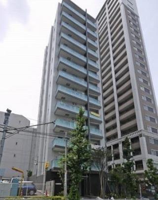 ザ・パークハウス新宿柏木の外観写真です。