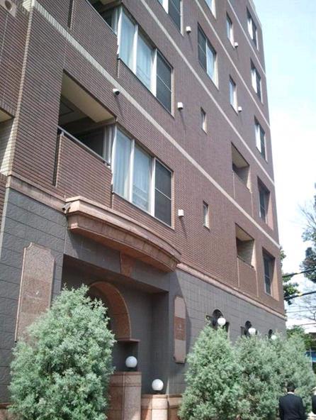 トリニティハウス三田の外観写真です