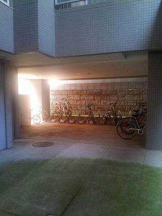 ヴェルドミール・Sの駐輪場写真になります