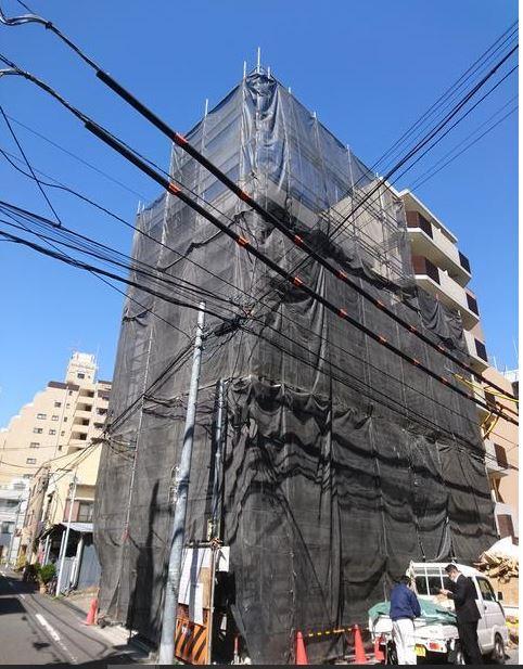 シティゲート上野入谷 外観(未完成)