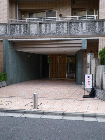 クレッセント目黒花房山 エントランス
