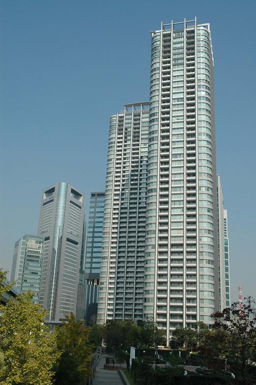 東京ツインパークスの外観写真です