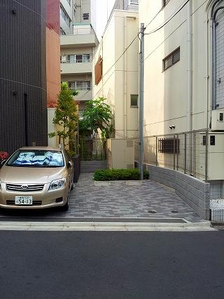 コンシェリア文京大塚の駐車場写真になります