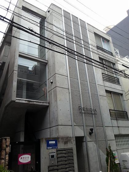レジディア西新宿の外観・共用部画像です