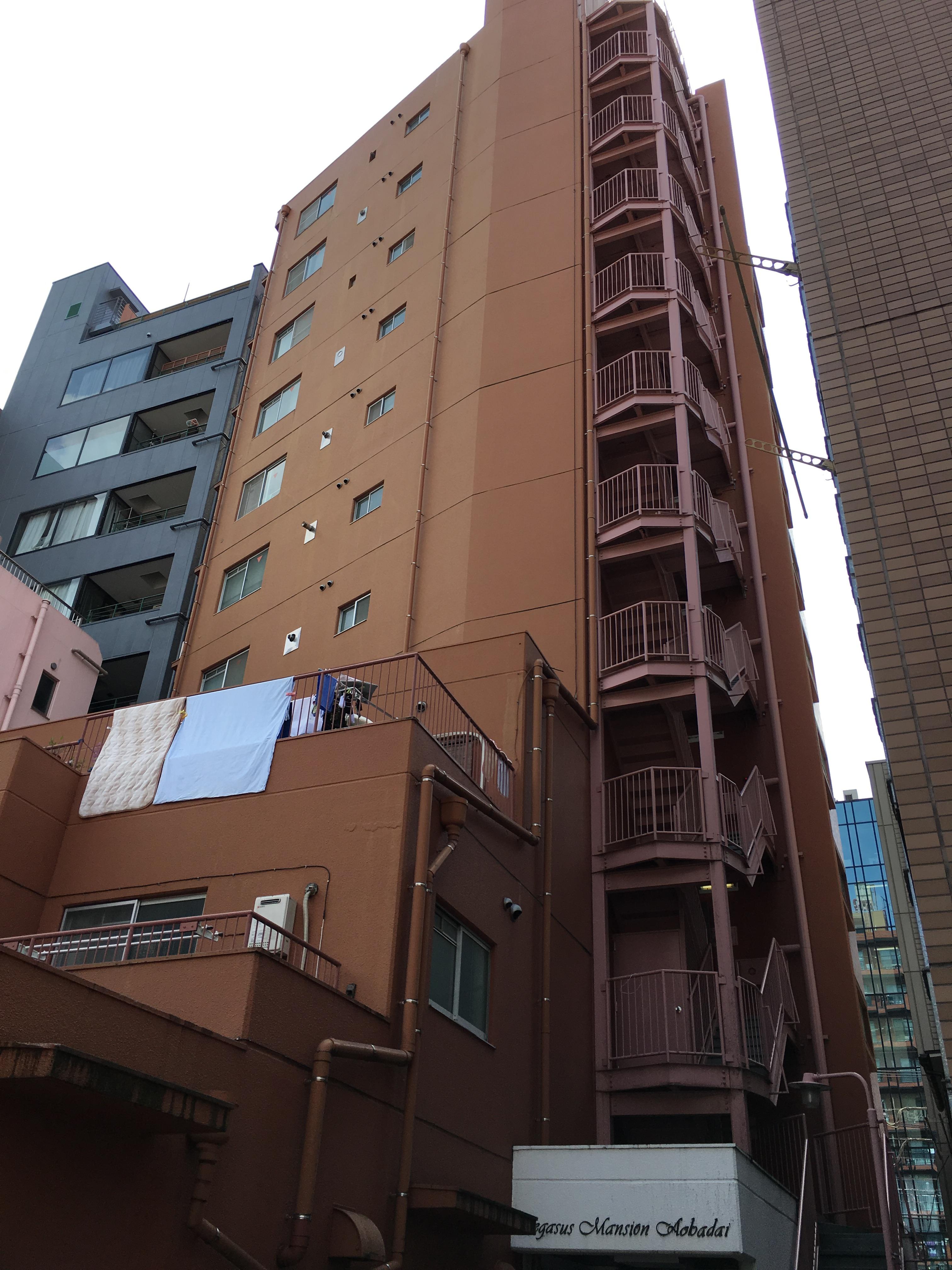 ペガサスマンション青葉台の写真になります。