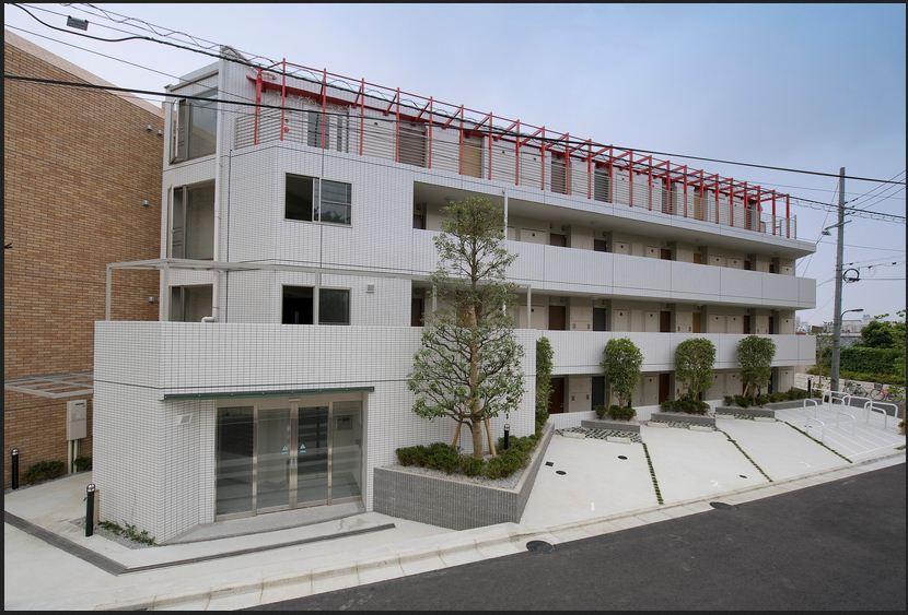 F.S.C.新宿マンションの外観写真です