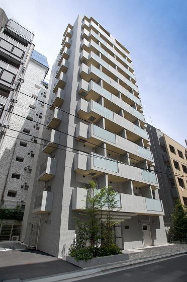レジディア新宿イーストⅢの外観・共用部画像です。