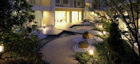 御殿山ハウス 中庭