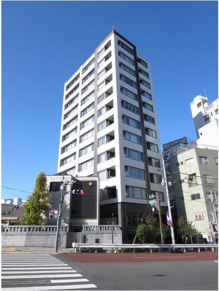 シェフルール駒込駅前の外観・共用部の画像です