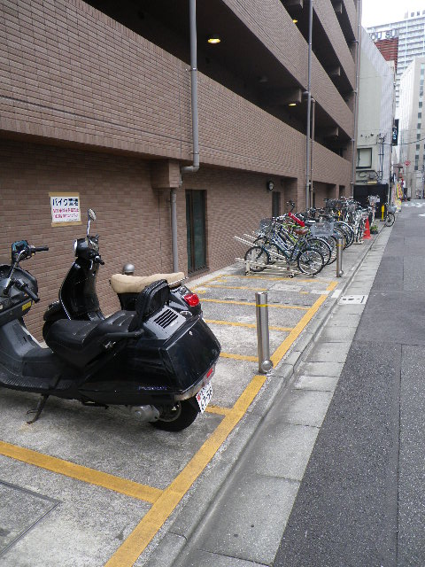 トーシンフェニックス五反田 バイク・自転車置き場