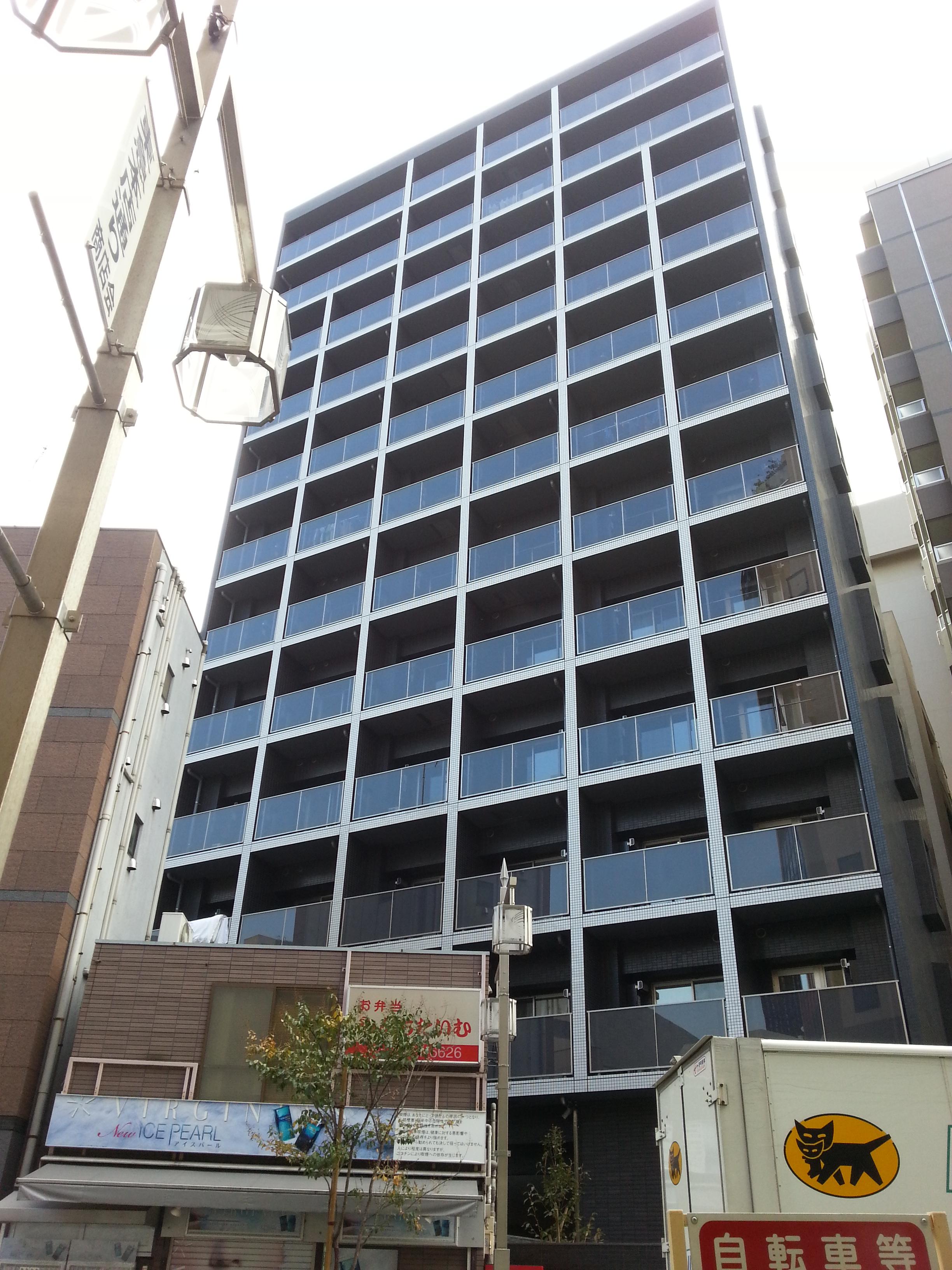 ガーラ・プレシャス渋谷の外観画像です