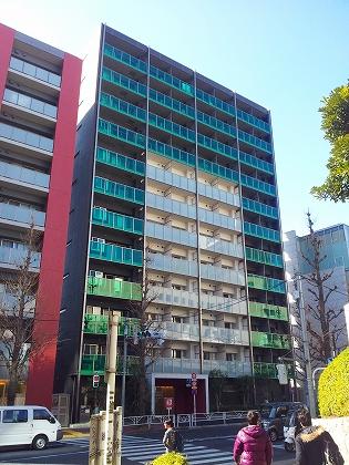 パークハビオ渋谷神山町の外観・共用部の画像です