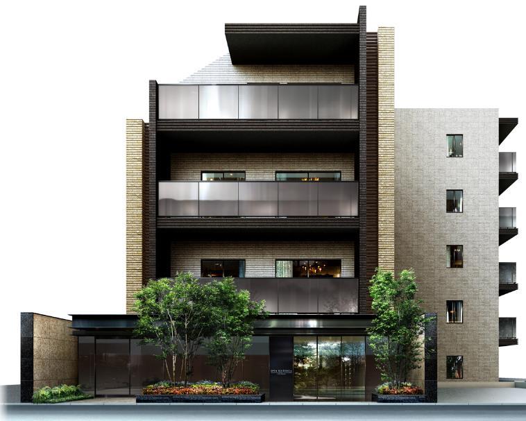 オープンレジデンシア表参道神宮前ザ・ハウス パース画像