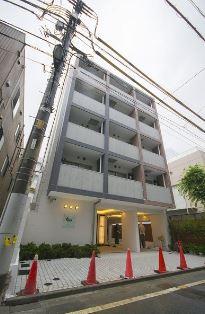 パティオ西新宿の外観・共用部画像です。
