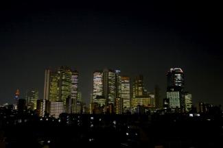 レジディア北新宿の夜景画像です