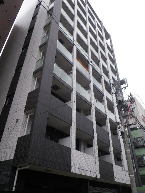 プレミアムキューブ三田の外観写真です